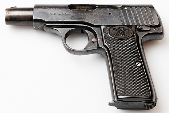 Walther model 4 Second Variant Early