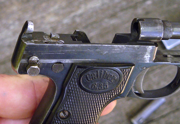 Pistole Walther model 1
