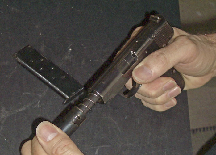 Disassembly Walther model 4