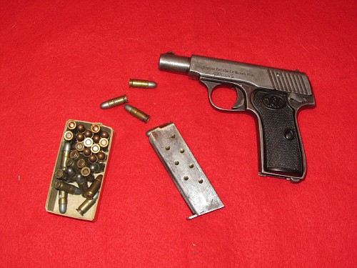 disassembly Walther Model 7