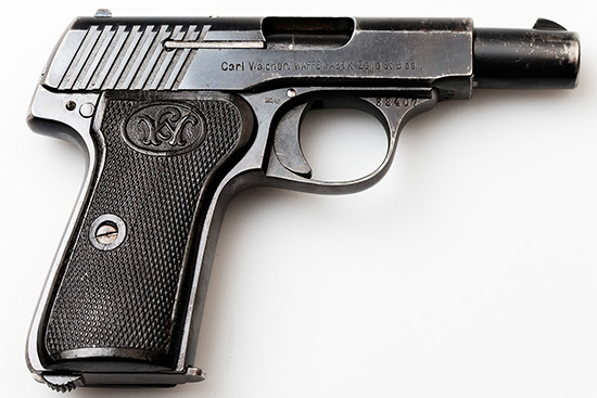 First Variant Walther Model 7
