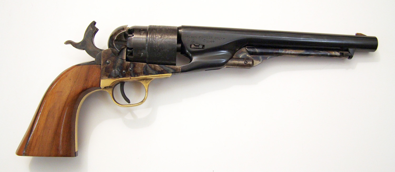 cleaning a revolver Colt Army 1860