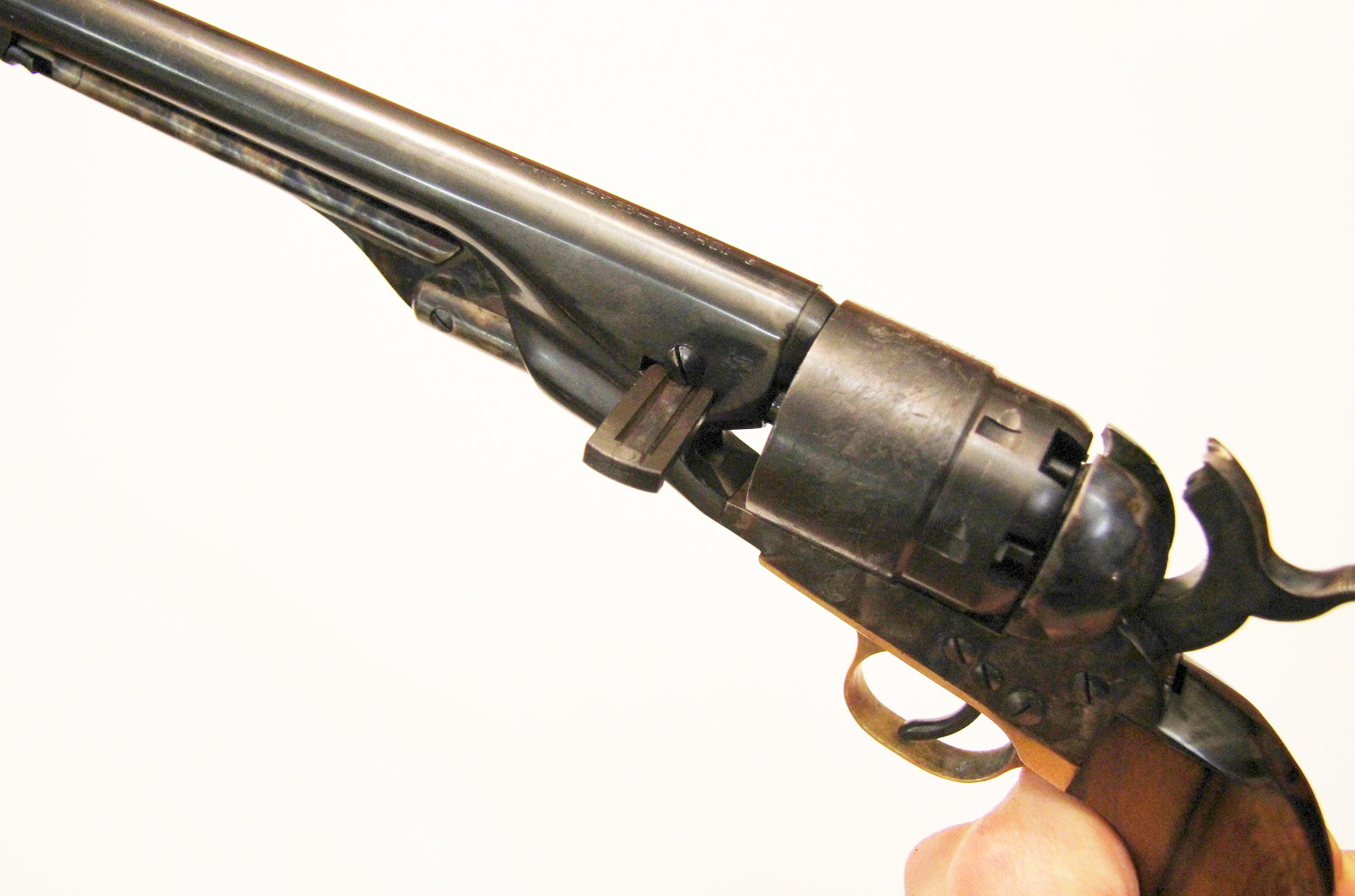 Colt Army 1860 reassembly