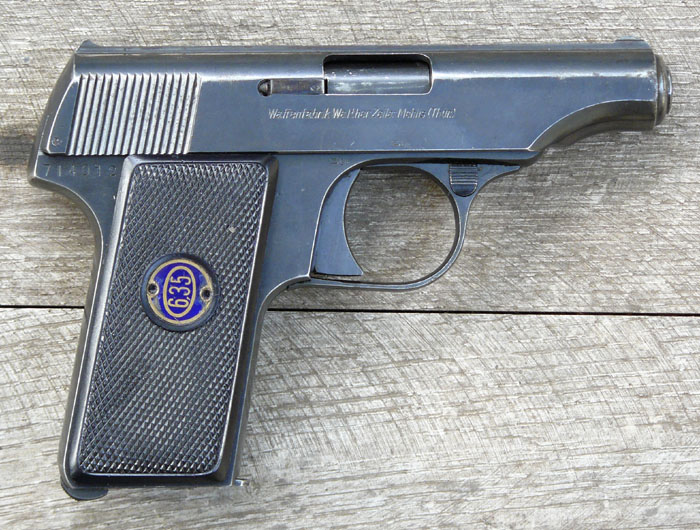 Walther model 8 Second Variant