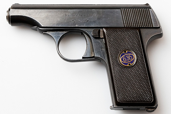 Walther model 8 First Variant