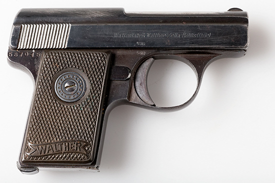 Walther model 9 Second Variant