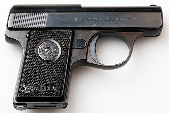 Walther model 9 Third Variant