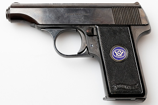 Walther model 8 Third Variant