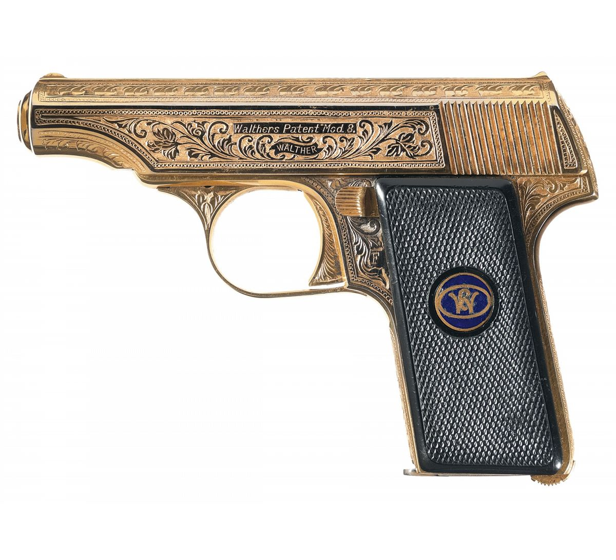 Walther Model 8 gold
