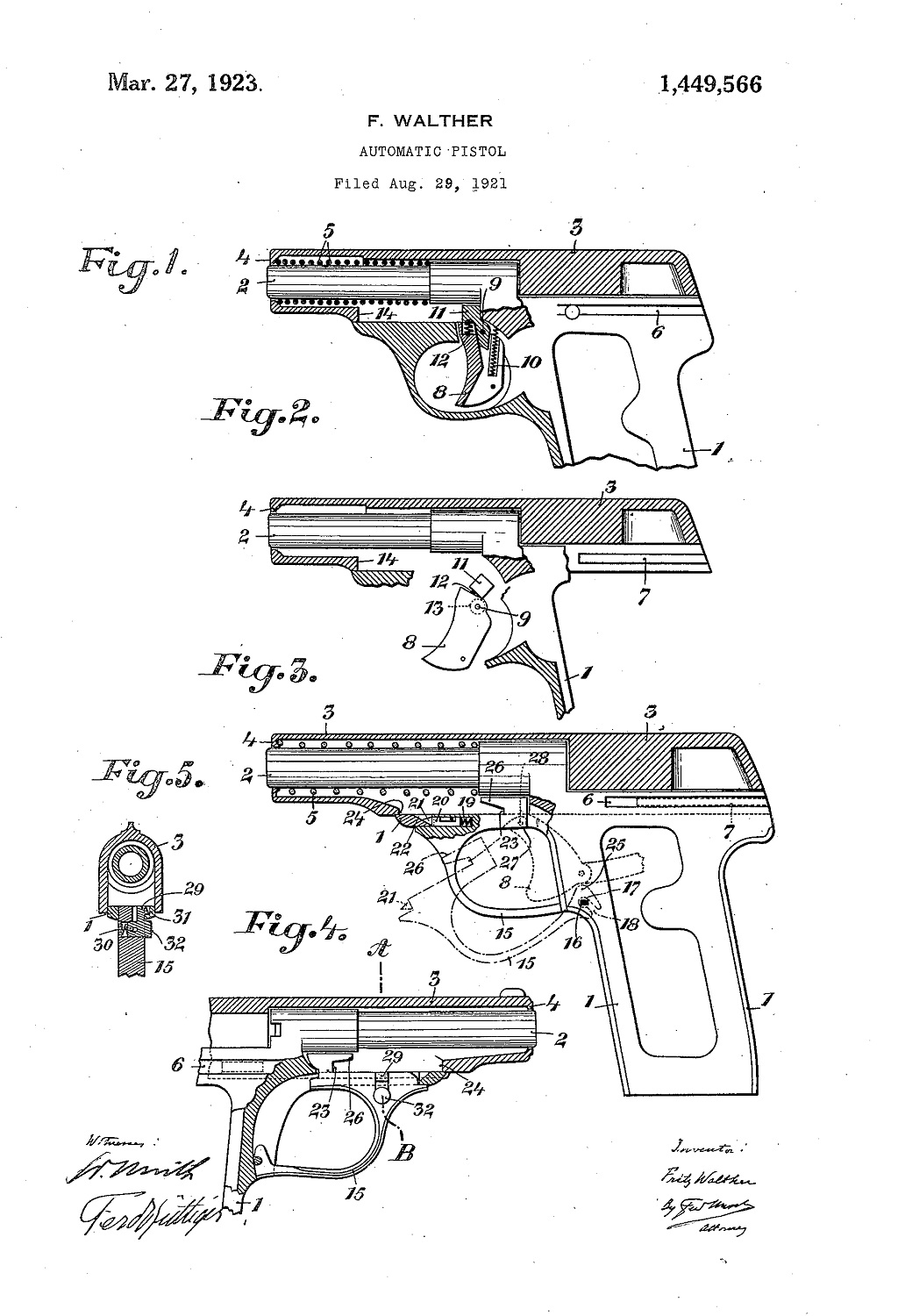 Walther Model 8