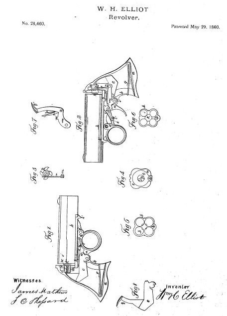 Elliot patent №28460 May 29, 1860