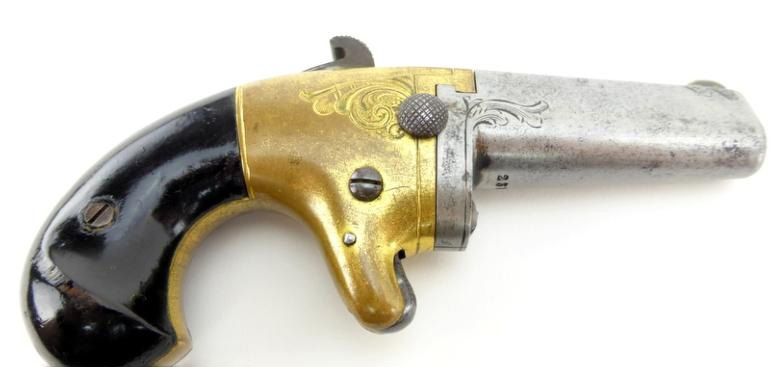 NATIONAL ARMS CO №2 Single-Shot Derringer