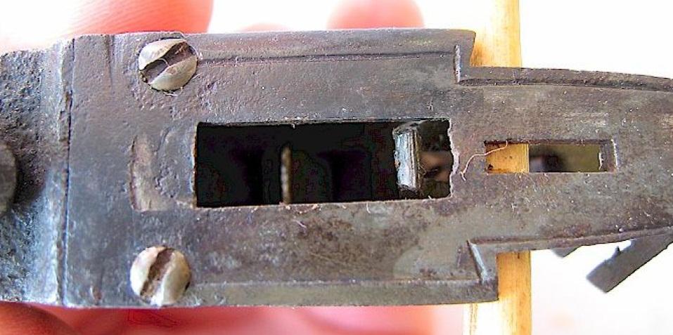 boxlock percussion pistol