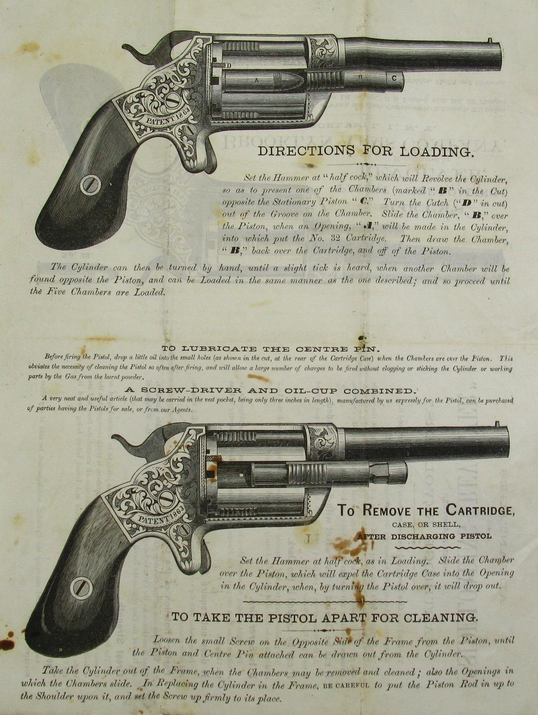 Инструкция к револьверу Слокум (кликните по изображению, чтобы увидеть фото полного размера)