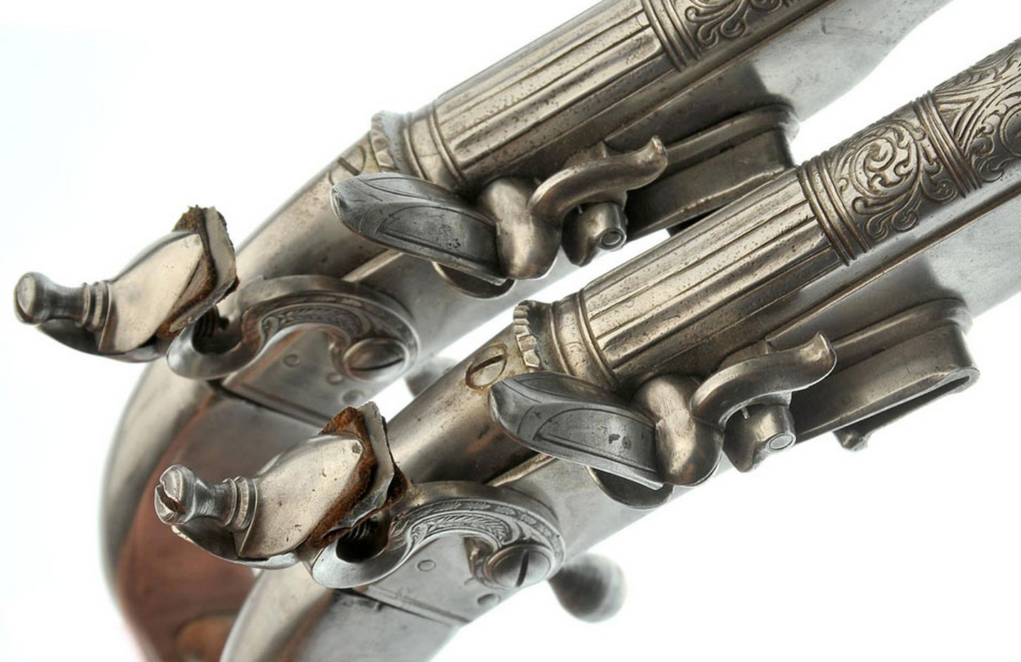 Scottish flintlock pistol