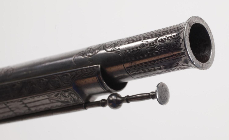Scottish flintlock pistol