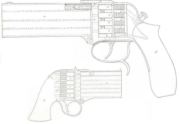 pistol Charles Bayle 1880