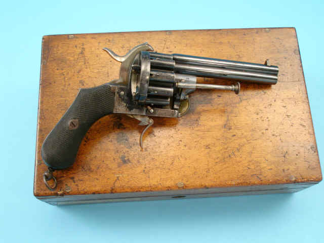 Two Barrel 20-shot Pinfire Revolver