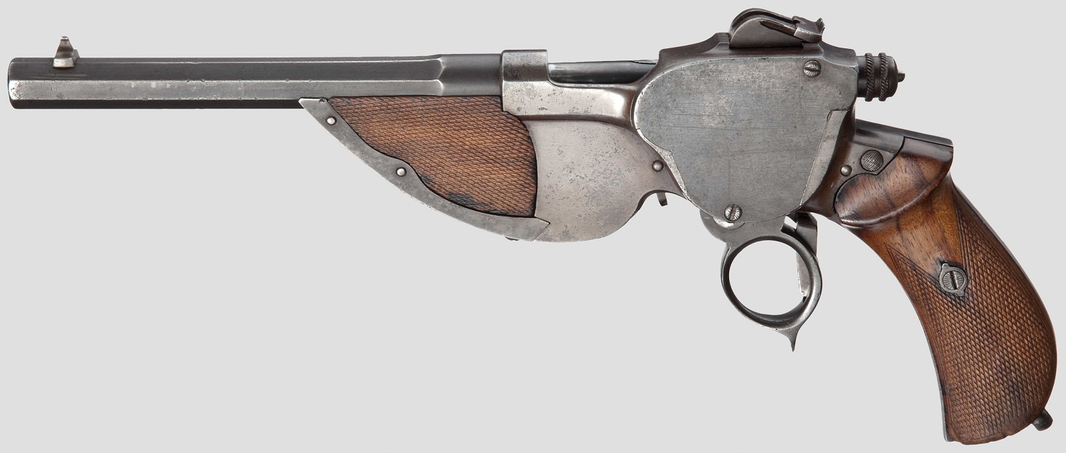Bittner repeating pistol