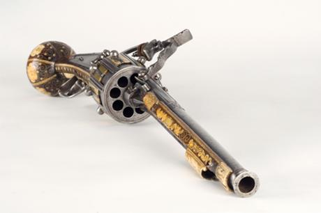 Georg Reichweins revolver