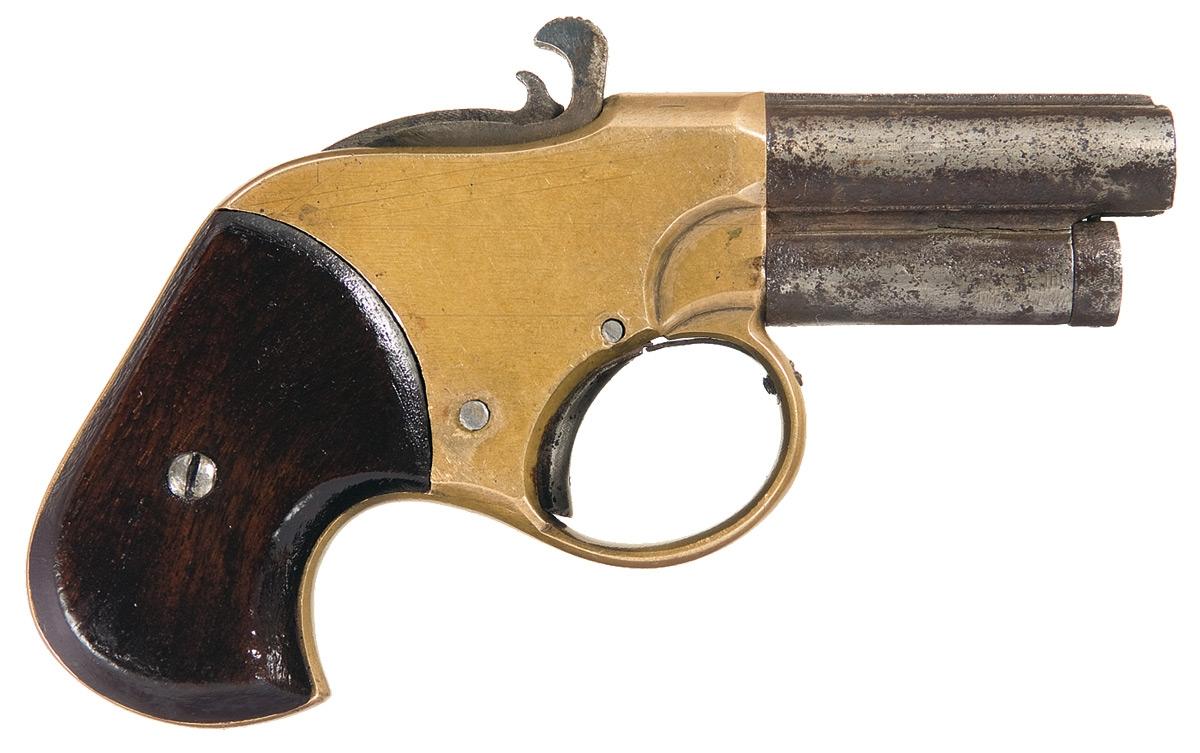 Prototype Remington Rider Magazine Pistol