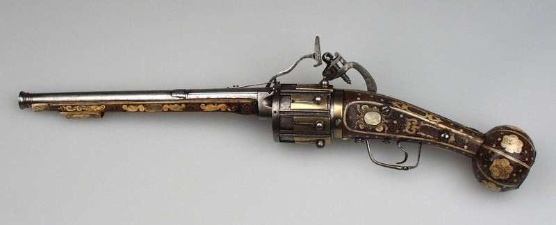 Verdens eldste revolver