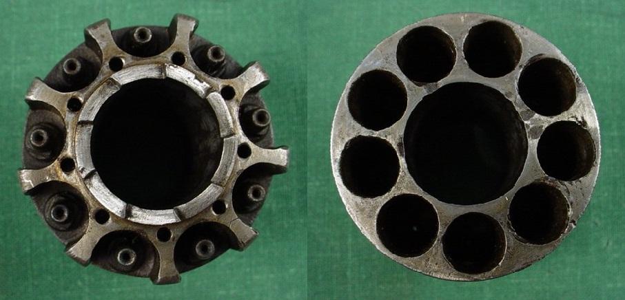 Le Mat cylinder revolves