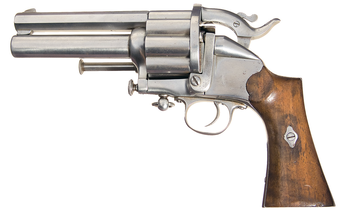 LeMat centerfire cartridge model