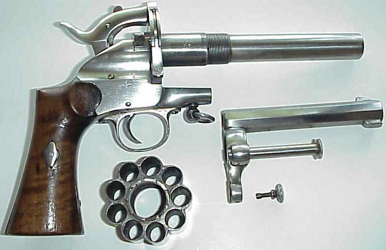 Револьвер Ле Ма под патрон центрального воспламенения