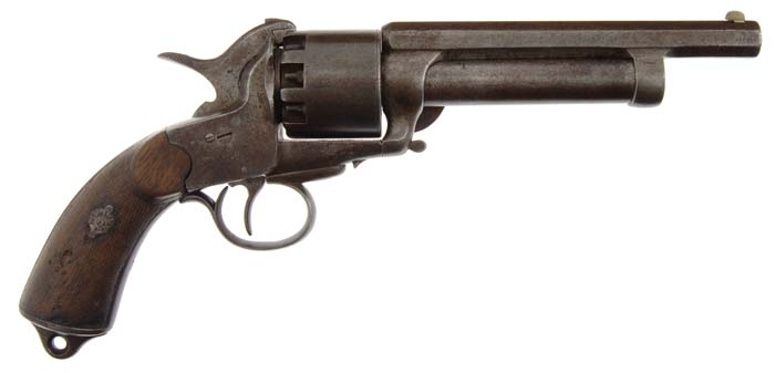 LeMat grapeshot revolver transition 1st to 2nd model