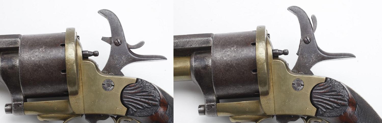 LeMat pinfire revolver