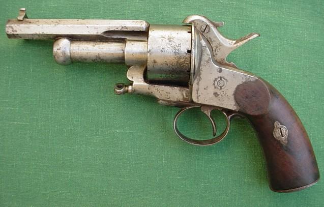 Baby Lemat pinfire revolver
