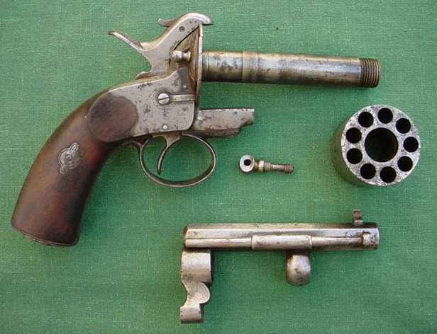 LeMat pinfire and percussion revolver