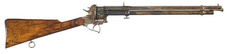 LeMat Pinfire Revolving Carbine