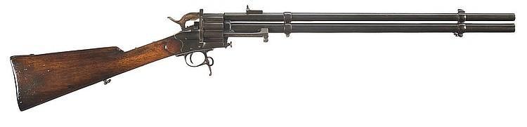 LeMat centerfire cartridge Revolving Carbine