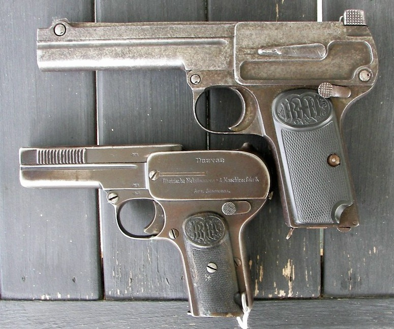 Dreyse pistol Model 1910 and Model 1907