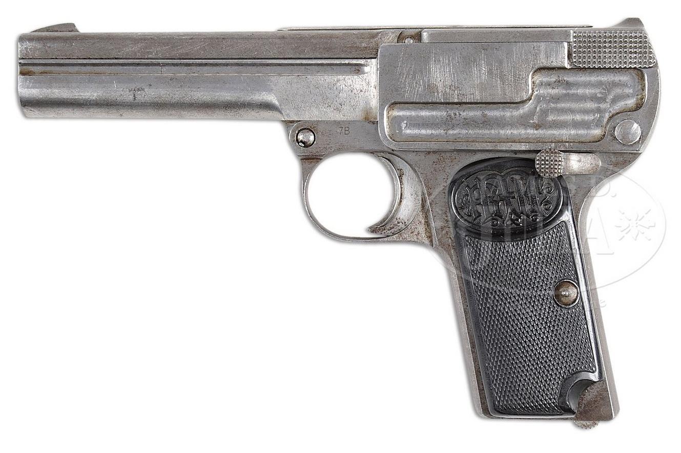 Прототип пистолета Дрейзе калибра 9 мм