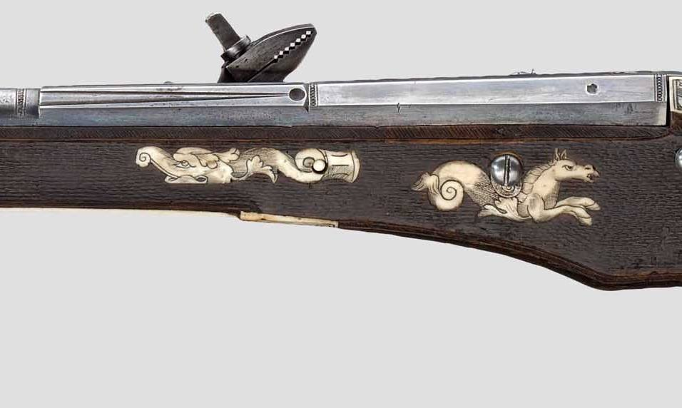 Wheellock pistol for officers of the Saxon Electorate Life Guards