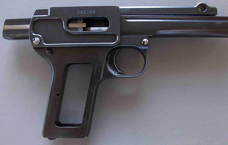 Пистолет Дрейзе модели 1910 года