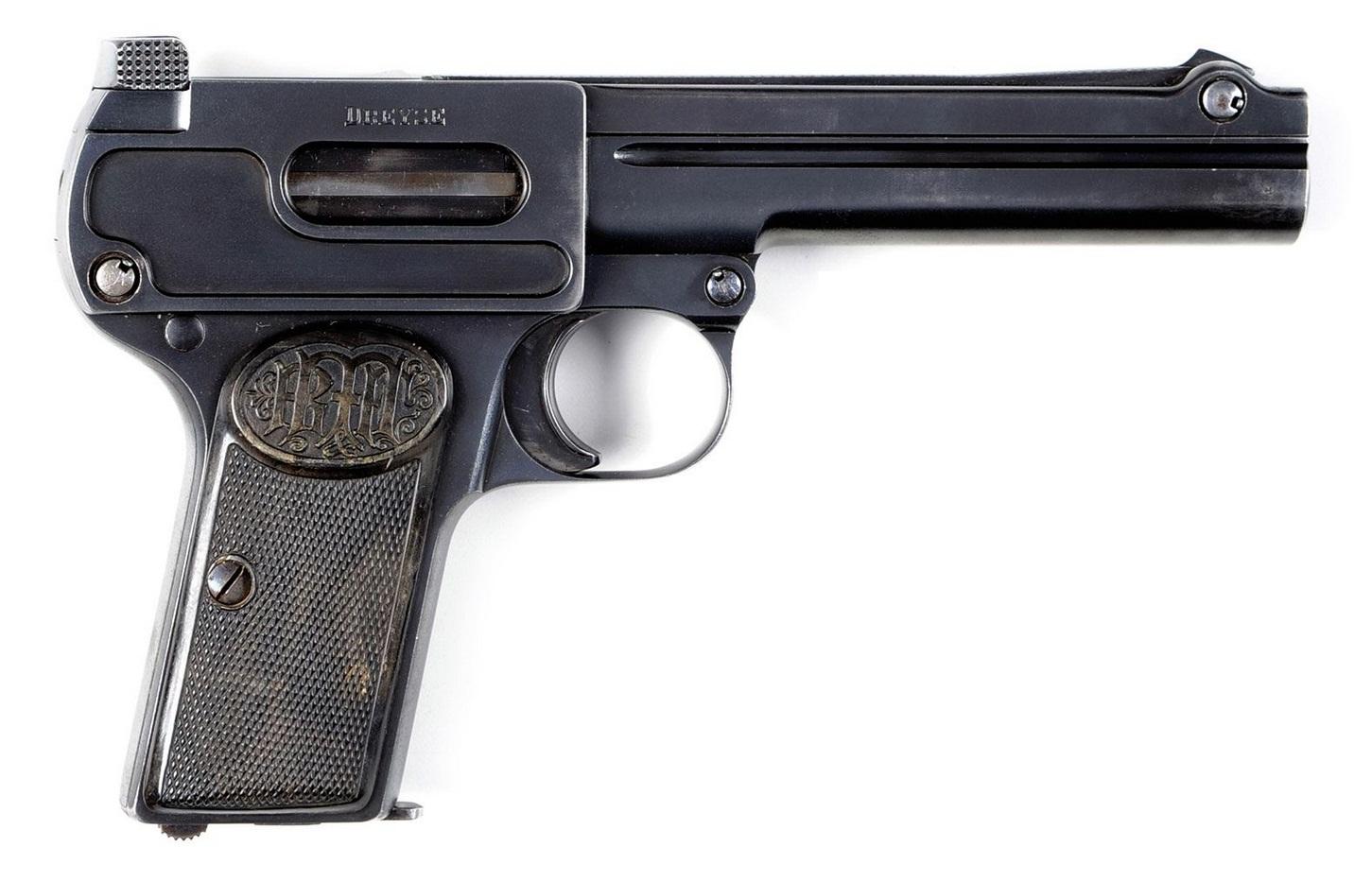 Пистолет Дрейзе калибра 9 мм