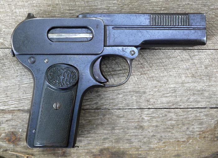 1907 Dreyse Pistol First Variant