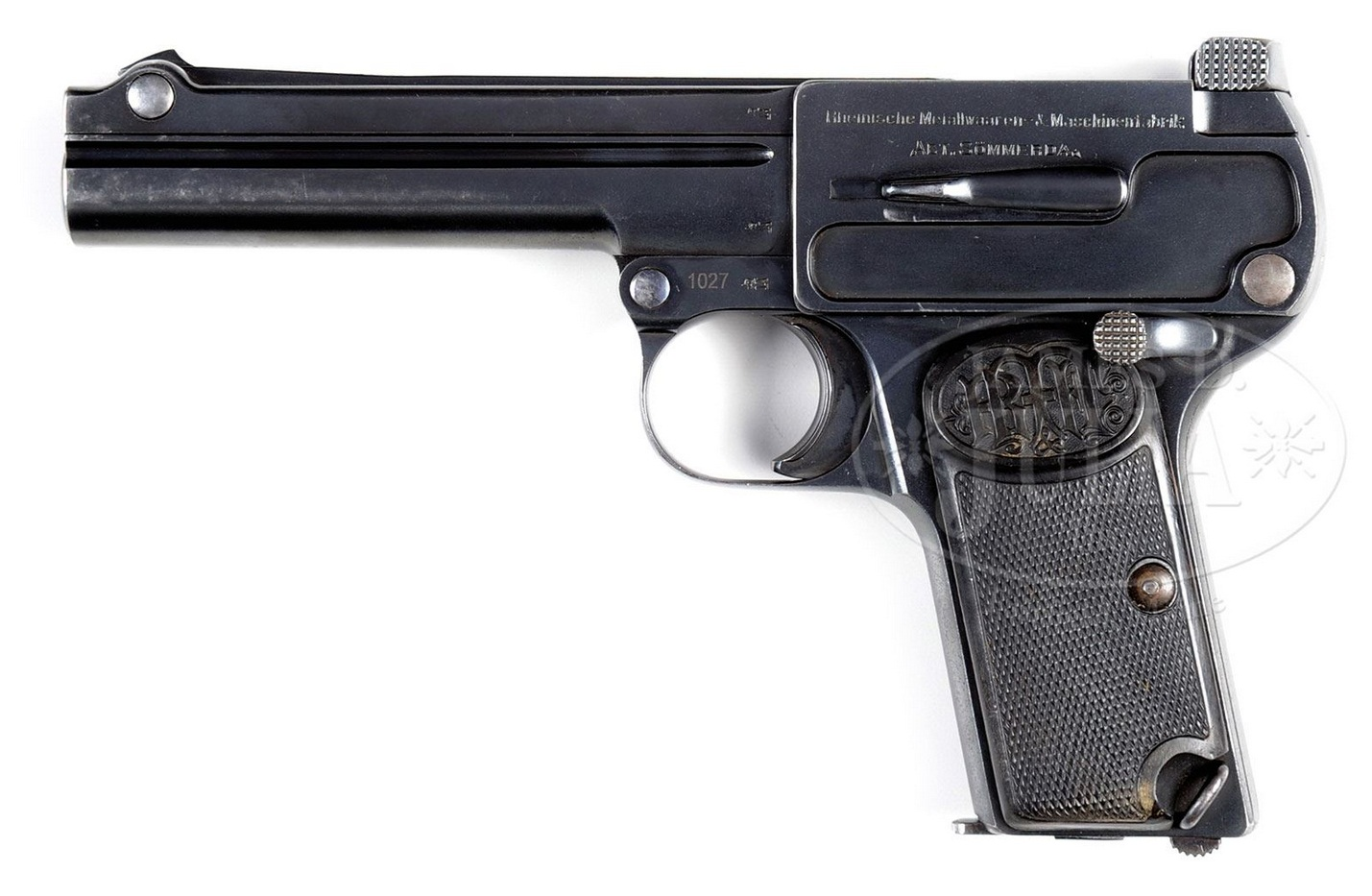 Dreyse 9mm pistol Model 1910