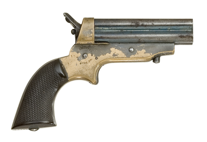 Sharps Model 2A Four Barrel Pepperbox Pistol