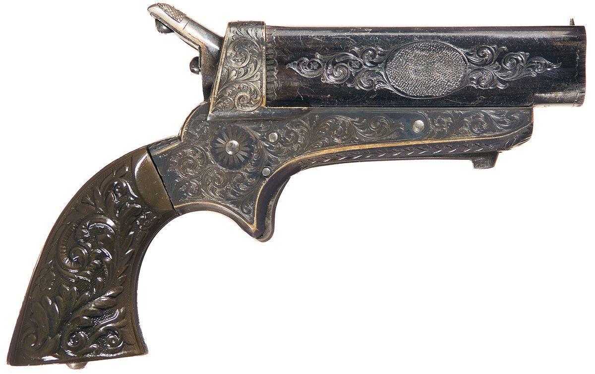 Sharps Model 2E Four Barrel Pepperbox Pistol