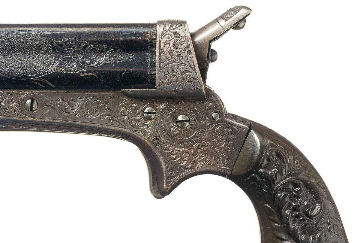 Sharps Model 2E Four Barrel Pepperbox Pistol