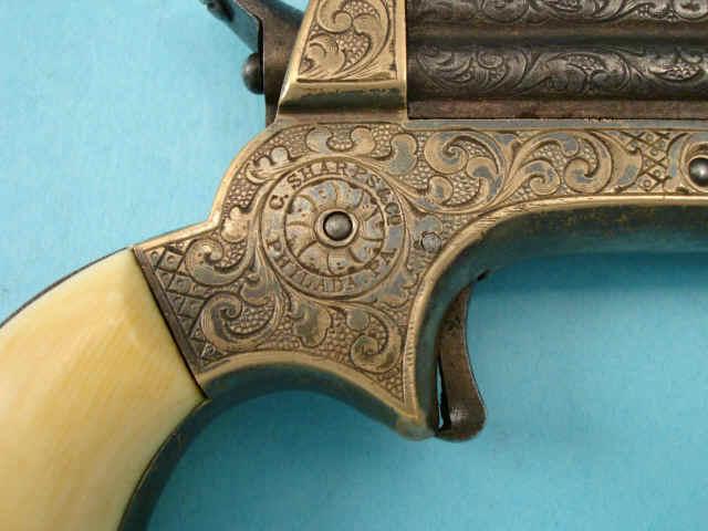 Sharps Model 1A Four Barrel Pepperbox Pistol