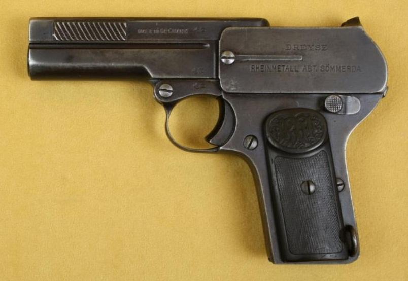 Пистолет Дрейзе образца 1907 года второй разновидности