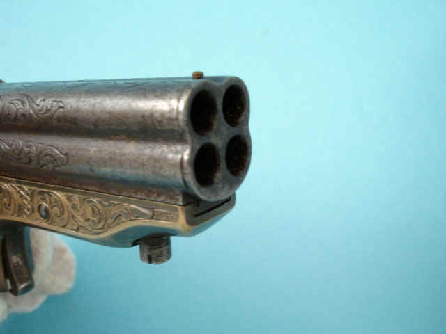 Sharps Model 1A Four Barrel Pepperbox Pistol