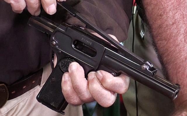 Пистолет Дрейзе калибра 9 мм модели 1910 года