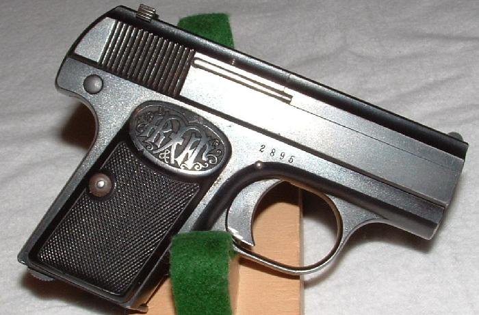 Dreyse 6.35mm Vest Pocket Pistol Type IIА.